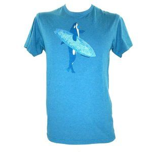 Patagonia Men's T Shirt Whale Surfboard Slim Fit